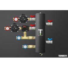 Sprzęgło hydrauliczne z grupami pompowymi - ZMSS01