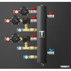 Sprzęgło hydrauliczne z grupami pompowymi - ZMSS02