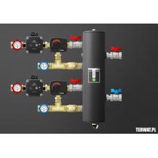 Sprzęgło hydrauliczne z grupami pompowymi - ZMSS03