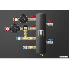 Sprzęgło hydrauliczne z grupami pompowymi - ZMST01