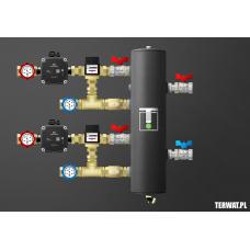 Sprzęgło hydrauliczne z grupami pompowymi - ZMST03