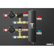 Sprzęgło hydrauliczne z grupami pompowymi - ZMST06