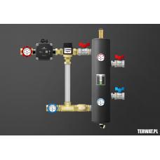 Sprzęgło hydrauliczne z grupami pompowymi - ZMST07